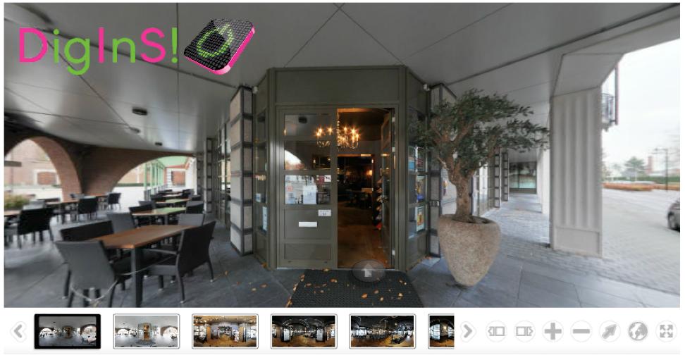 demovirtuele rondleiding restaurant